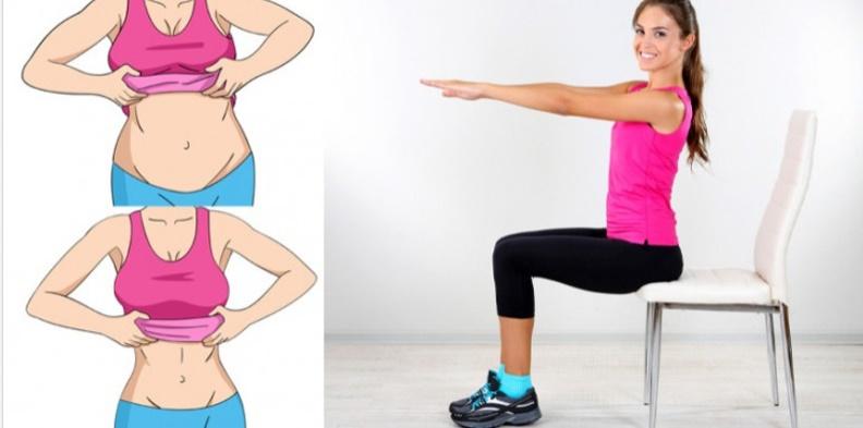 esercizi e dieta per bruciare il grasso addominale